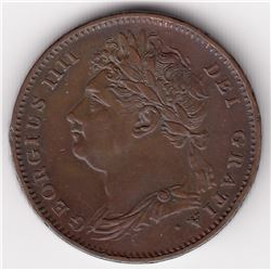 Great Britain Farthing, 1825