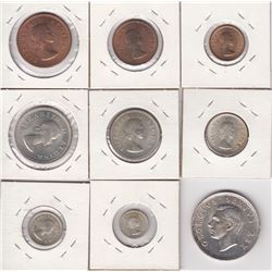 South Africa - Lot of 9 Coins