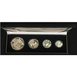 South Africa Wild Life Series, 2006 - The Black-Backed Jackal Silver Proof Set