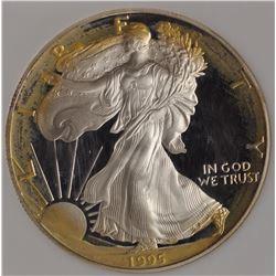 United States Silver American Eagle, 1995-P