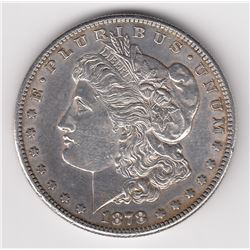 United States Silver Dollar, 1878 S