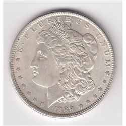 United States Silver Dollar, 1889