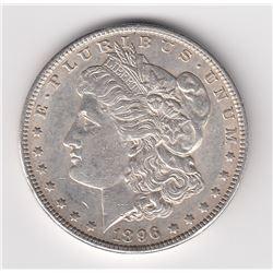 United States Silver Dollar, 1896