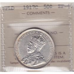 1917 Newfoundland Fifty Cents