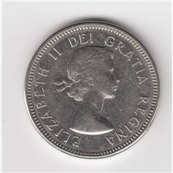 1964 Five Cents - Extra Waterline