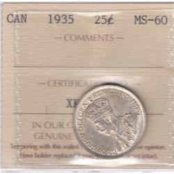 1935 Twenty Five Cents