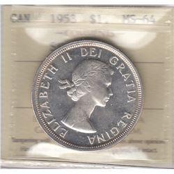 1953 Siler Dollar