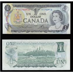 Bank of Canada $1, 1973 Replacement