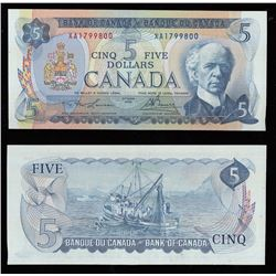 Bank of Canada $5, 1972
