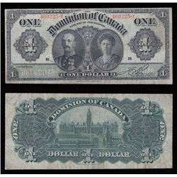1911 Dominion of Canada $1