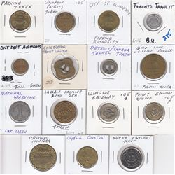 Lot of Fifteen Misc. tokens