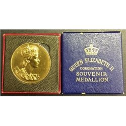 1953 Coronation Medallion