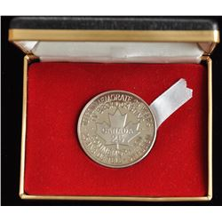 RCA One Ounce Silver Round in Case