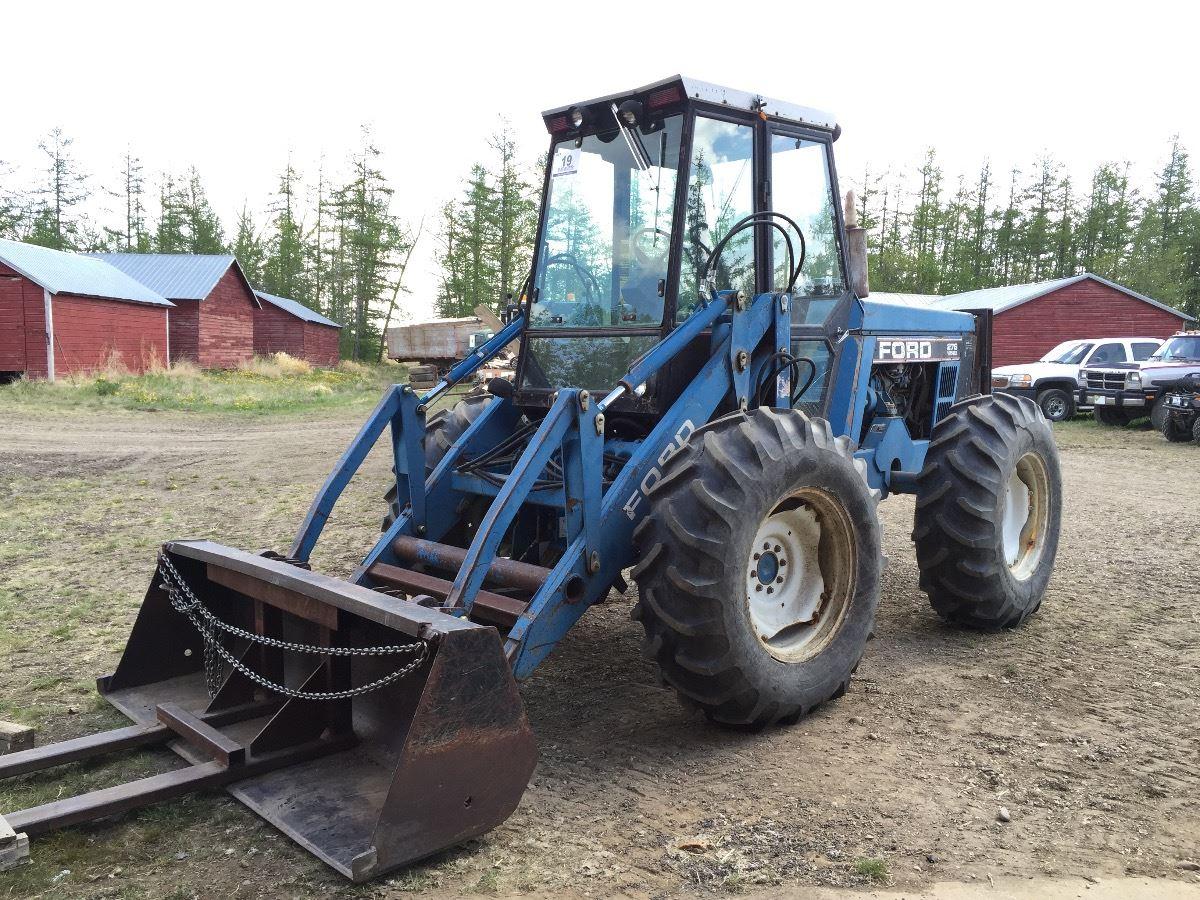 Ford Versatile 276ii Bi Directional Tractor