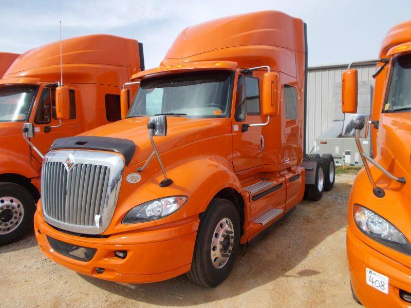 2014 INTERNATIONAL PROSTAR+ 122 T/A TRUCK TRACTOR, S/N 3HSDJAPRXEN016477,  450 HP CUMMINS ISX15 ENGIN