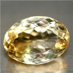 7.62 CT GOLDEN YELLOW BRAZILIAN CITRINE
