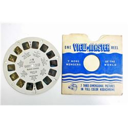 VINTAGE LITTLE BLACK SAMBO VIEW MASTER REEL