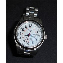 WOMANS CITIZEN QUARTZ RAILROAD APPROVED WRIST WATCH