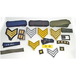 HUGE LOT OF US MILITARY PATCHES