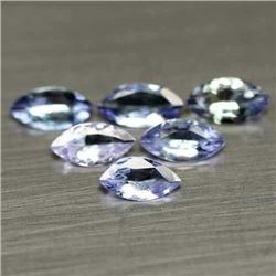 LOT OF 7.59 CTS OF BLUE TANZANITES