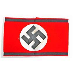 GERMAN NAZI WAFFEN SS SWASTIKA ARM BAND