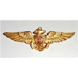 USN NAVAL OFFICERS PILOT WING
