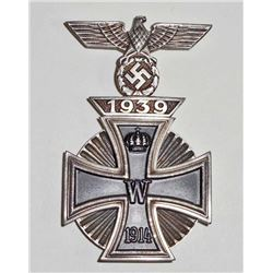IMPERIAL GERMAN 1ST CLASS IRON CROSS W/ ATTACHED 1ST CLASS CLASP