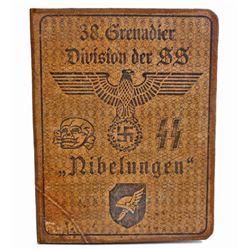 GERMAN NAZI WAFFEN SS 38 GRENADIER DIVISION IDENTIFICATION BOOK