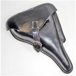 GERMAN NAZI LUGER PARABELLUM P08 PISTOL LEATHER HOLSTER