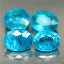LOT OF 6.19 CTS OF BLUE MADAGASCAR APATITES