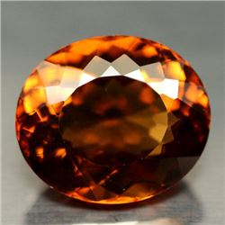 31.42 CT GOLDEN ORANGE BRAZILIAN CITRINE