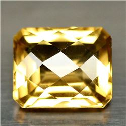 4.40 CT GOLDEN YELLOW BRAZILIAN CITRINE