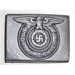 GERMAN NAZI WAFFEN SS ENLISTED MANS BELT BUCKLE