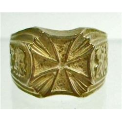 GERMAN NAZI IRON CROSS OFFICERS RING
