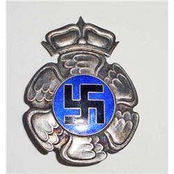 GERMAN NAZI FINLAND AXIS COMBAT BREAST BADGE