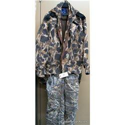 BOX LOT CAMO CLOTHING