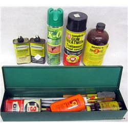 AMMO AND CLEANING SUPPLIES