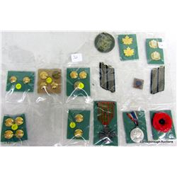 MILITARY MEDALLIONS AND BUTTONS