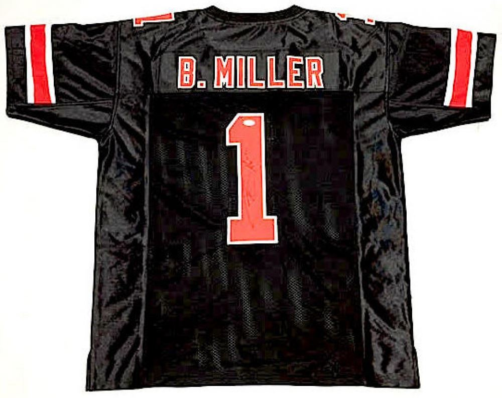 huge selection of a68d1 4b1fd Braxton Miller Signed Ohio State Jersey (JSA COA)