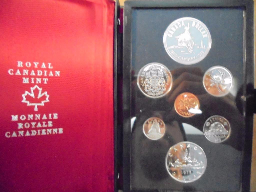 Canada 1975 Calgary Double Dollar Set