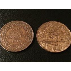 1914-1918 Canada 1 Cent