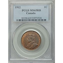 1912 Canada George V 1-Cent