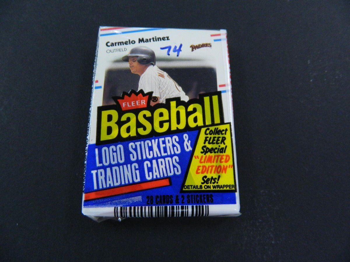 4 Four Unopened Packs Of 1988 Fleer Baseball Cards 28 Cards Per
