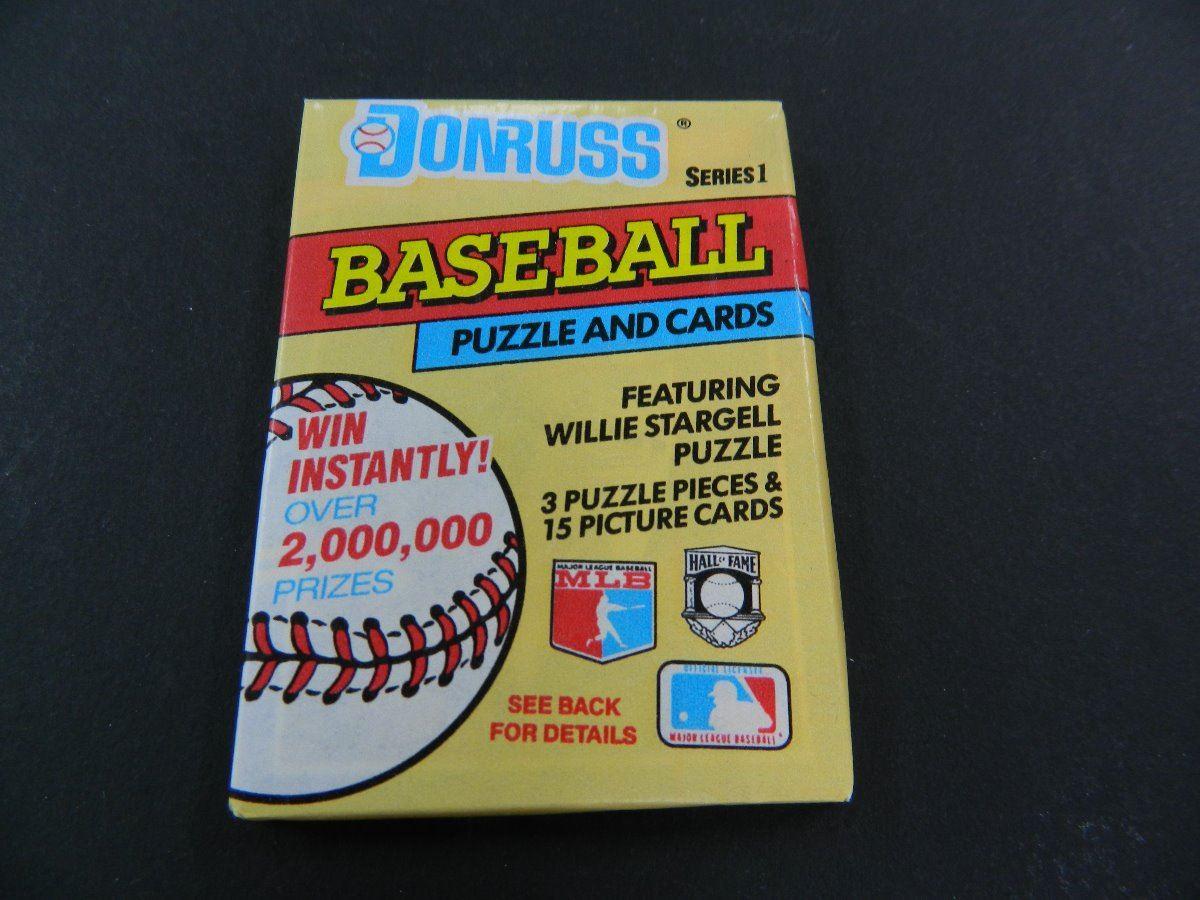 Six 6 Unopened Packs Of 1991 Donruss Baseball Cards 15
