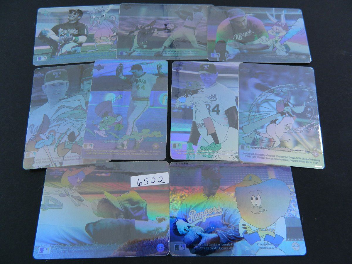 1991 Upperdecklooney Tunes 9 Nine Card Hologram Set W Nolan