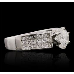 18KT White Gold 3.45ctw Diamond Ring