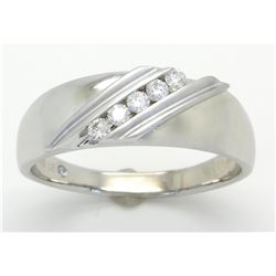 0.35ctw Leo Diamond Ring - 14K White Gold