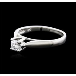 Platinum 0.30ct Diamond Solitaire Ring