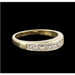 14KT Yellow Gold 0.80ctw Diamond Ring