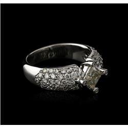 14KT White Gold 1.93ctw Diamond Ring